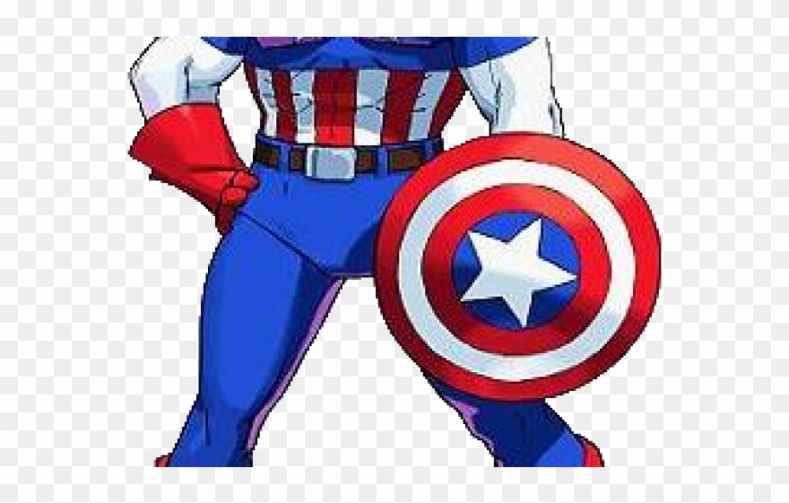 Captain America Marvel Vs Capcom 1 Clipart (#995181.