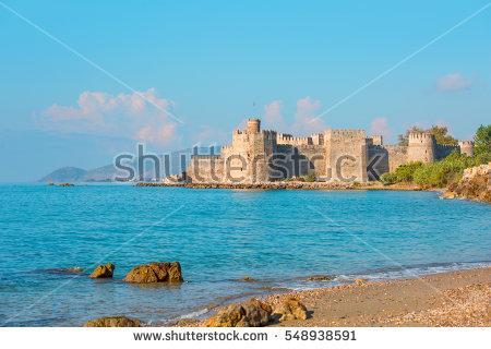 Maidens Castle Mersin Turkey Kizkalesi Stock Photo 113771140.