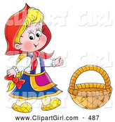 Royalty Free Riding Hood Stock Girl Designs.