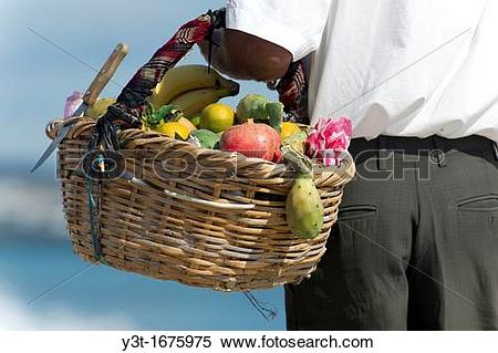 Stock Image of North Africa, Tunisia, Cape Bon, Hammamet. Fruits.