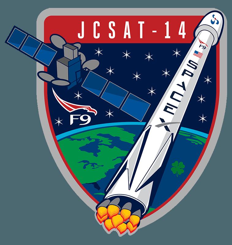 SpaceX Falcon 9 JCSAT 14 Rocket Launch.
