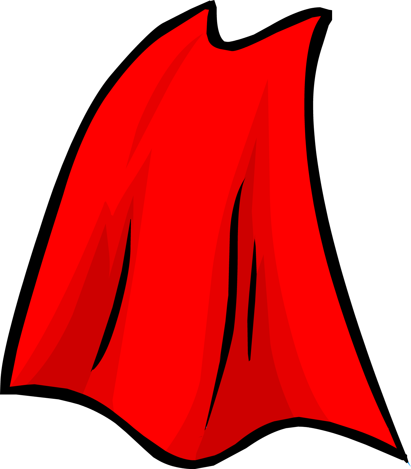 Superhero Cape Clipart.
