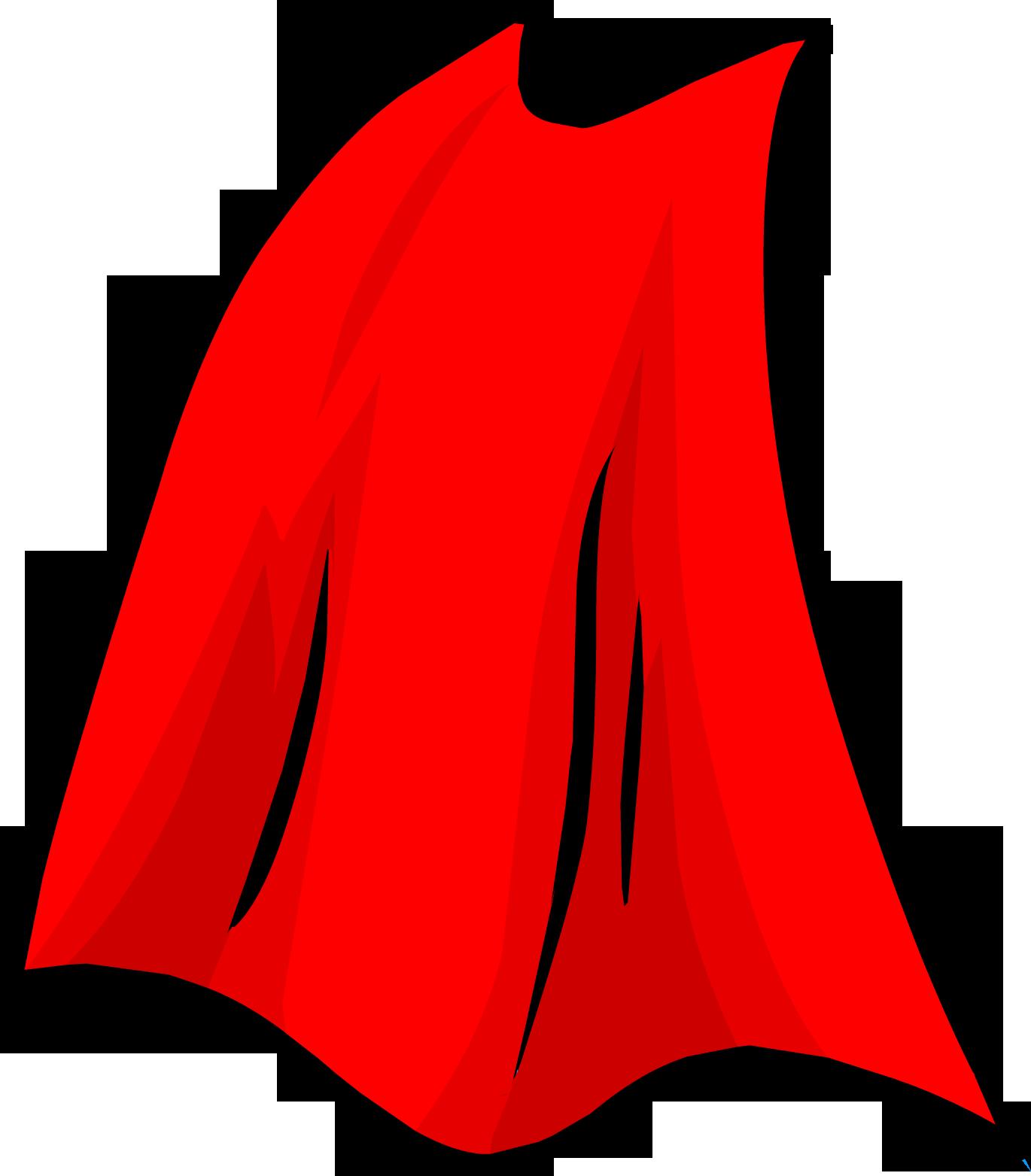 Superhero Cape Clipart.