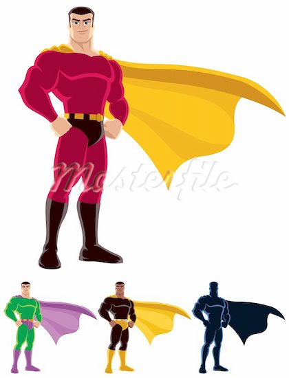 Hero Cape Clipart.