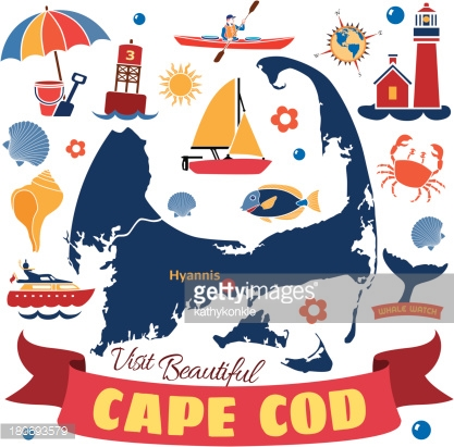 Cape Cod Stock Illustrations And Cartoons.