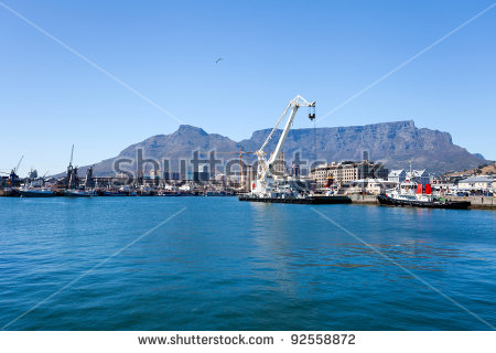 Cape Town Harbour Stock Photos, Royalty.