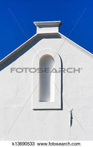 Stock Photo of Cape Dutch architecture k13690533.