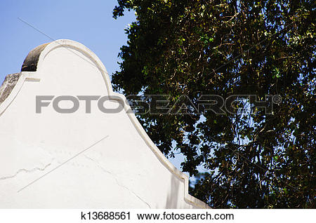 Stock Photography of Cape Dutch architecture k13688561.
