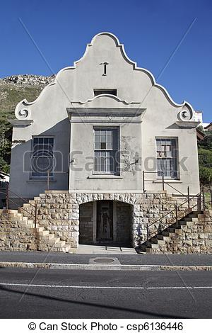 Stock Image of Cape Town Architecture.