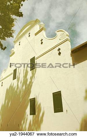 Picture of Cape Dutch Style Building. ya2.
