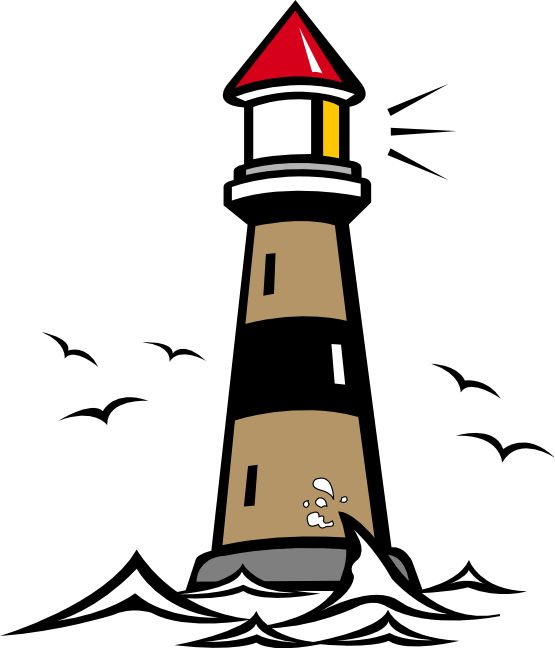 lighthouse clipart free #16