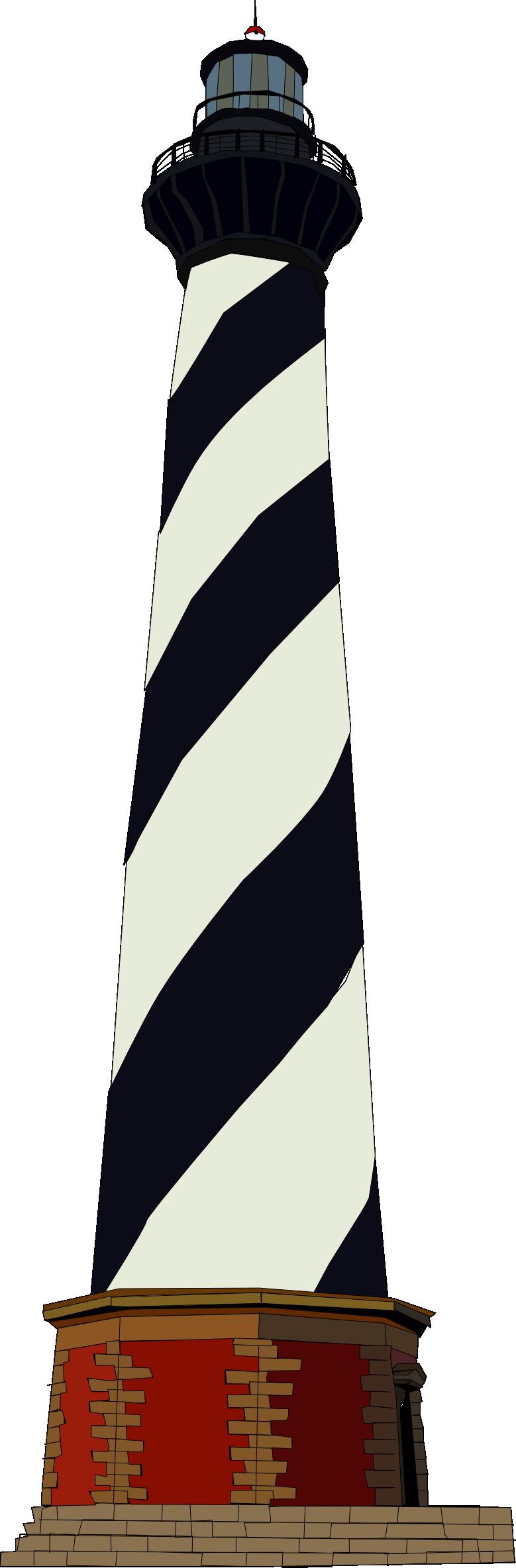 Cape hatteras lighthouse clipart.