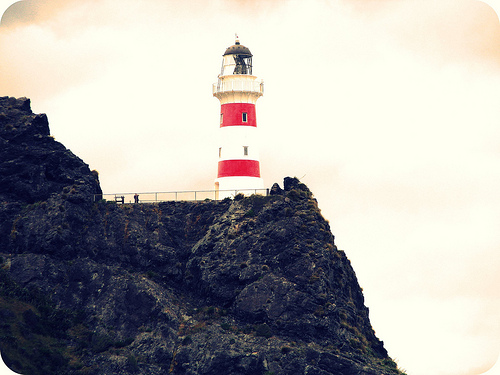 Cape palliser lighthouse clipart #2