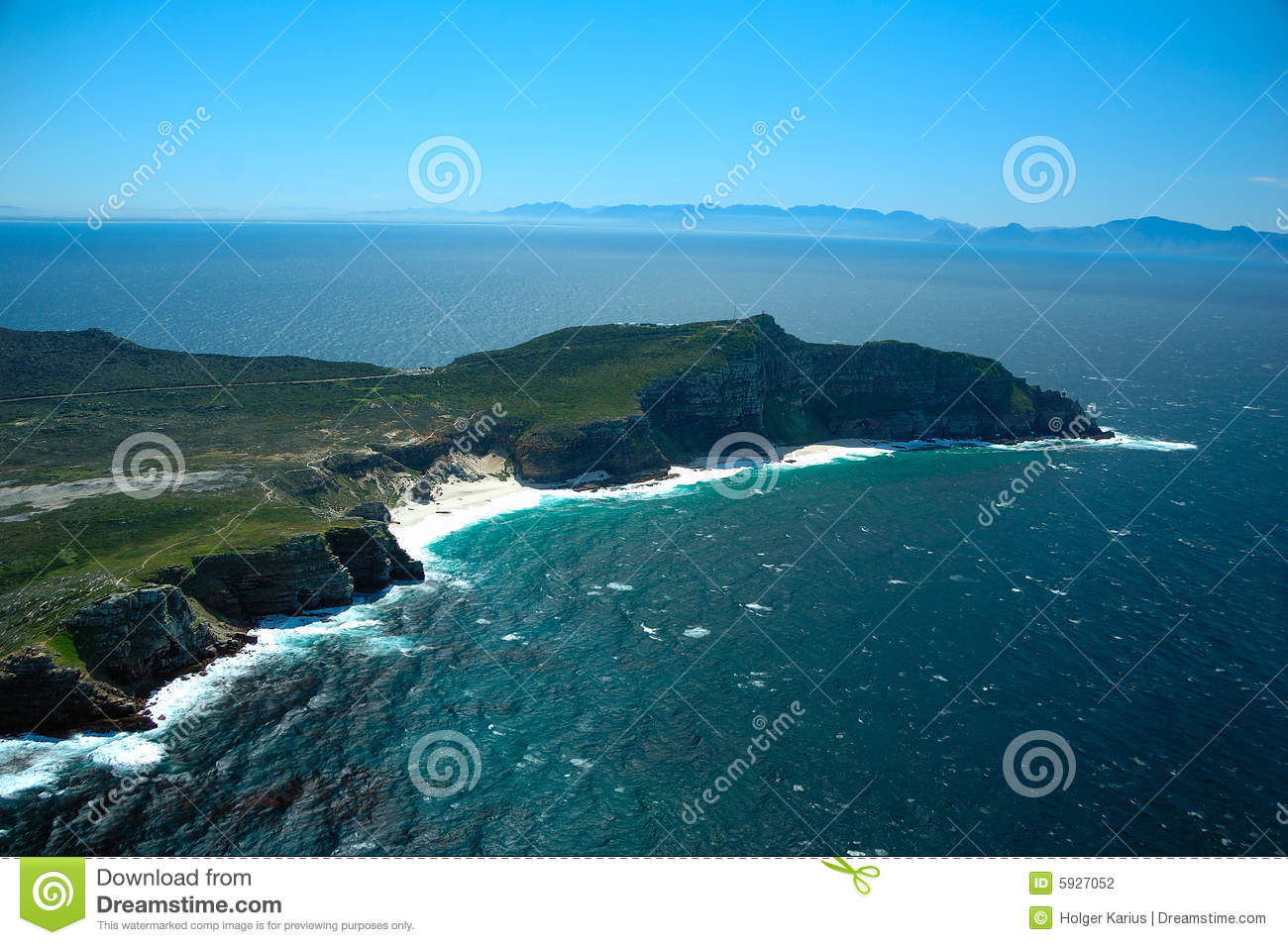 Cape Point (South Africa) Stock Photography.