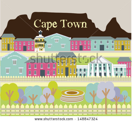 Table Mountain Cape Town Stock Photos, Royalty.