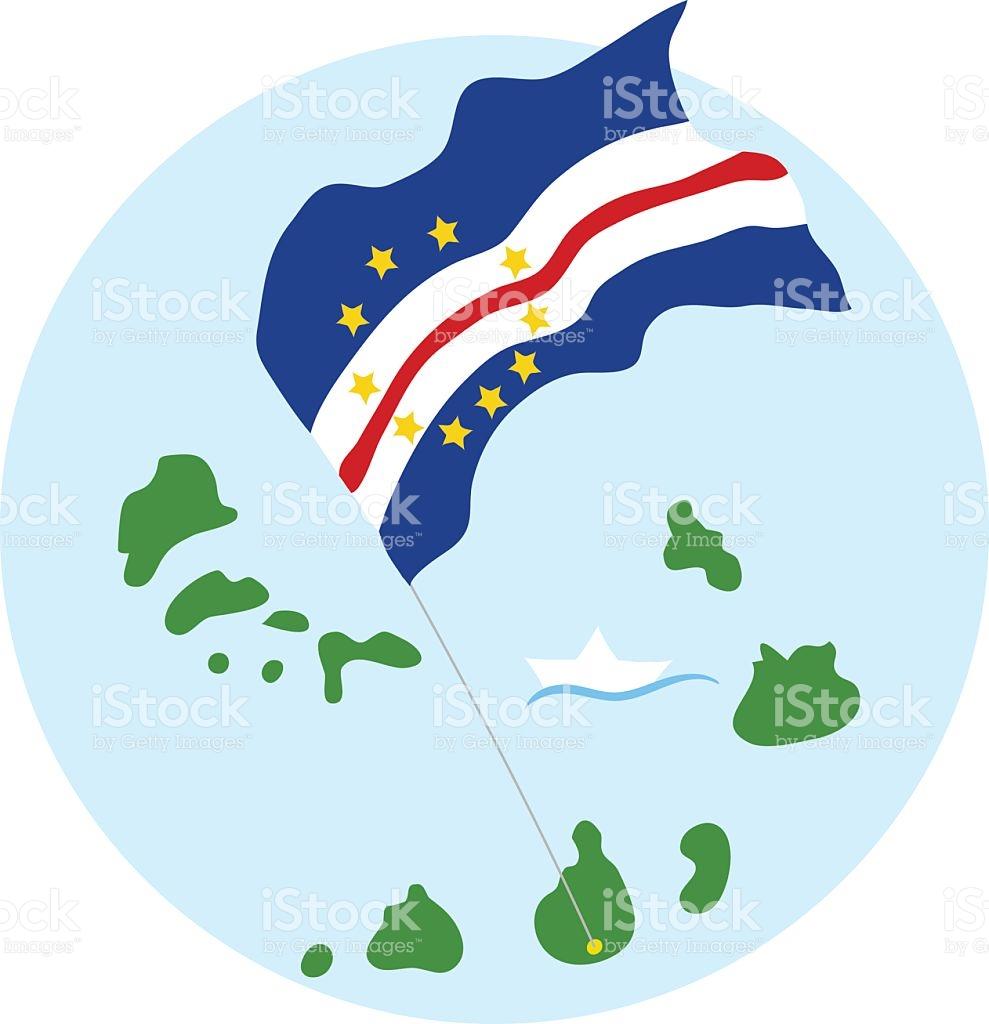 Cape Verde Islands stock vector art 621129986.