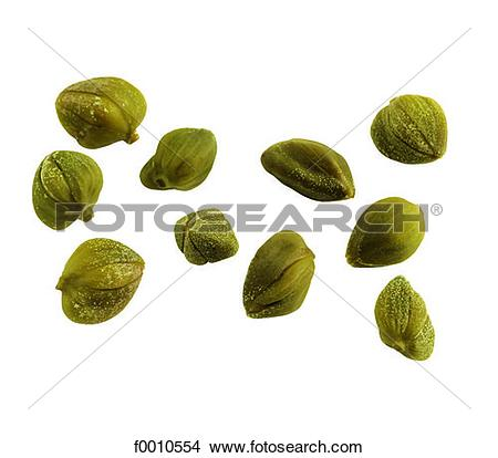 Stock Photo of Capers f0010554.