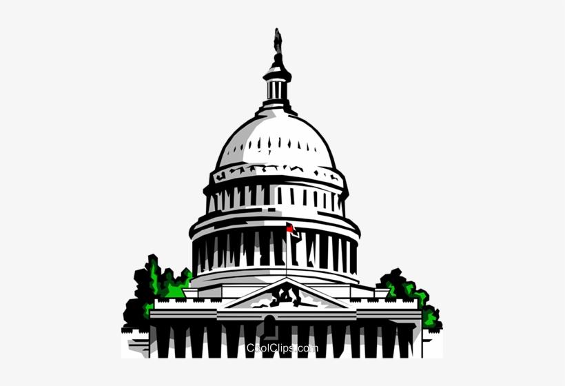 Capitol Building Clipart Png Transparent PNG.