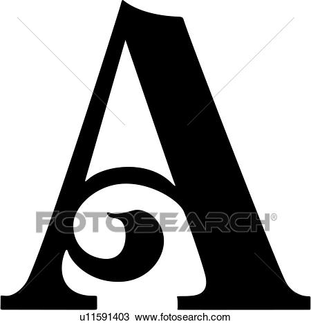 , a, alphabet, capital, letter, lettered, swash, uppercase, Clipart.