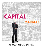 Clipart of Business word cloud for business concept, Capital.