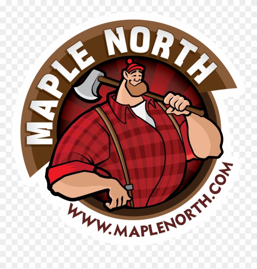 Sticker Maple North Logo.