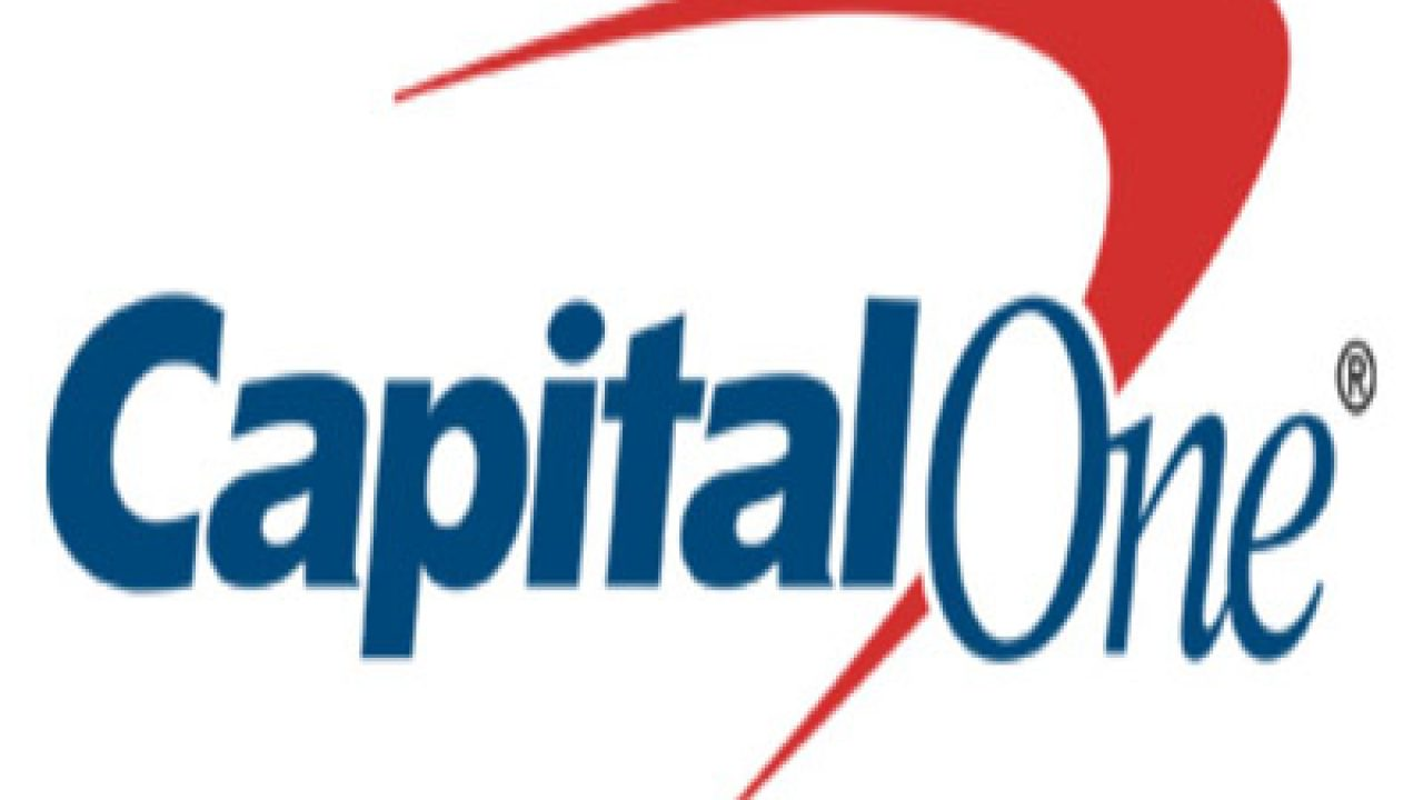 Capital One Logo and Tagline.