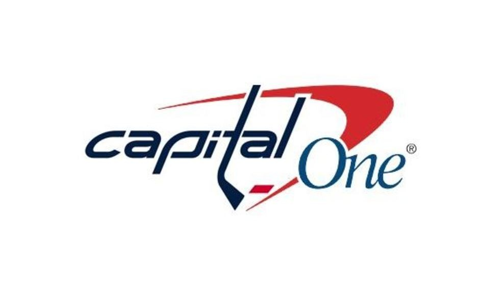 Capital One changes website logo to support Caps ahead of.