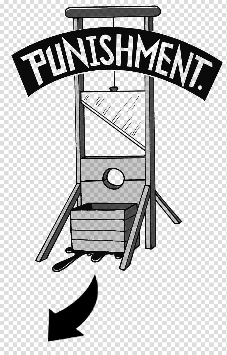 Cartoon Drawing Capital punishment , shame transparent.