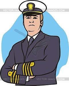 Captain Clip Art.