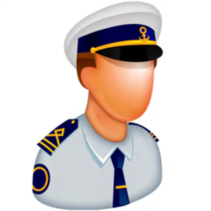 Captain Clipart.