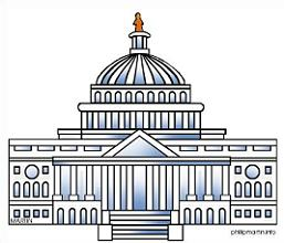 Free US Capitol Building Clipart.
