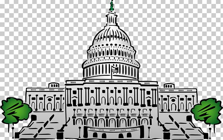 White House United States Capitol Dome Building PNG, Clipart.