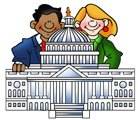 United States Clip Art by Phillip Martin, Famous Locations in.