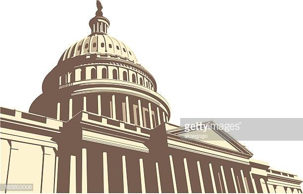 60 Top Capitol Building Washington Dc Stock Illustrations, Clip art.