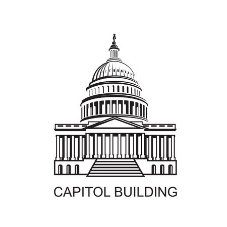 457 Capitol Hill Stock Vector Illustration And Royalty Free Capitol.