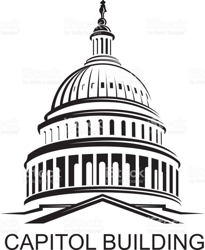 Washington Dc Capitol Building Clipart & Free Clip Art Images #1852.