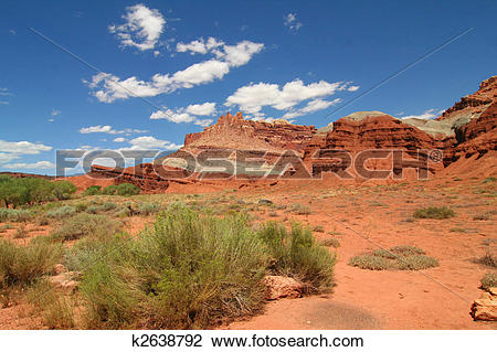 Stock Photo of Capitol Reef National Park k2638792.