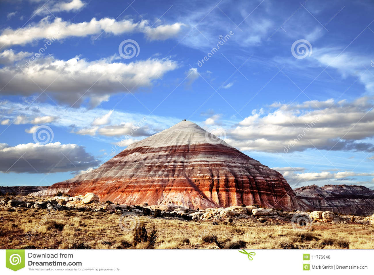 Capitol Reef National Park Stock Photo.