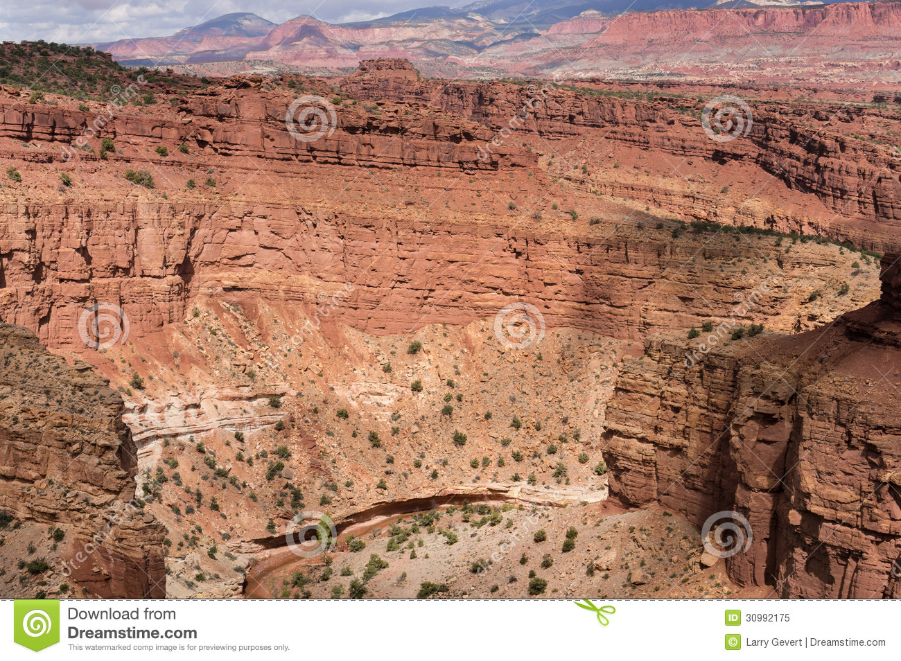 Cathedral Valley, Capitol Reef National Park Stock Photos.