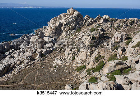Picture of Rocks And Sea.