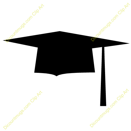 Cartoon Graduation Hat.