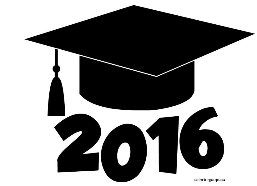 Graduation Caps Clip Art.