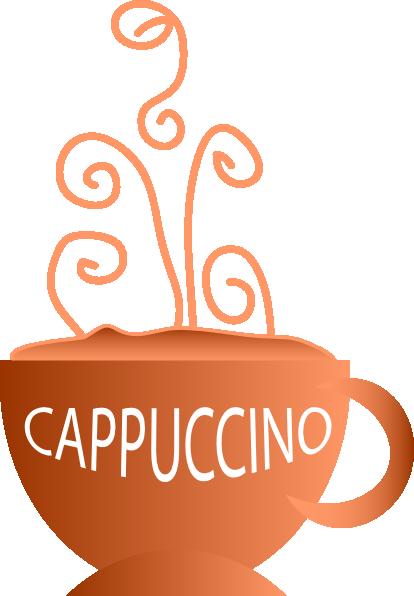 Free cappuccino clipart.