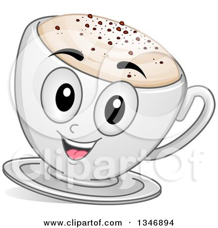 Cappuccino coffee clipart #16