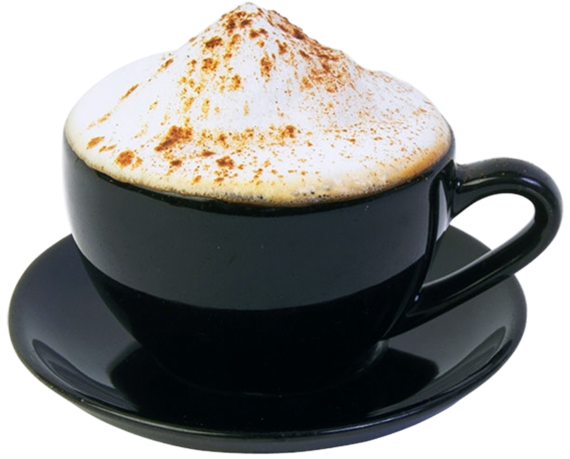 Cappuccino PNG Picture.