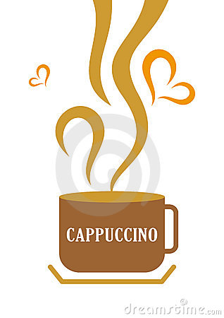 Cappuccino cup clipart.
