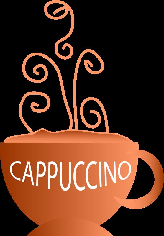 Free Clipart: Cappuccino.