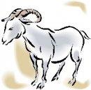 clip art di animali della capra, cliprt di capre.