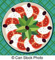 Caprese salad Illustrations and Clipart. 35 Caprese salad royalty.