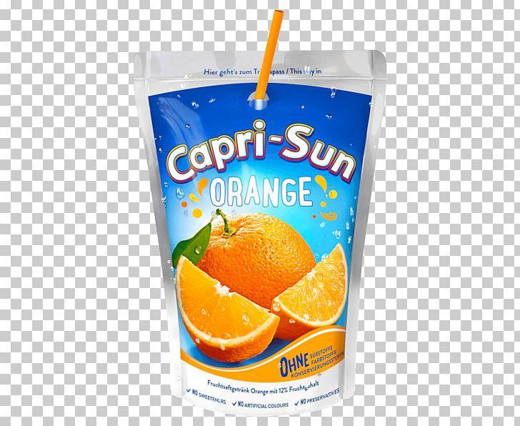 Orange Juice Squash Orange Drink Capri Sun PNG, Clipart.
